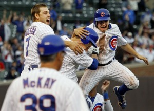 Cubs leave'em smiling with walk-off win vs. Astros