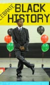 Black history in fashion at Glenwood school