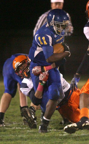 Highland RB LaKice Brooks knows you never get tired when you're winning