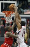 Horford's 31 points lead Hawks past Bulls