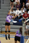 Valparaiso meets Lake Central in DAC volleyball