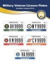 Images of new Indiana veteran license plates