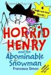 Horrid Henry Snowman