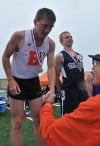 Beecher's Nykaza a double winner at Class 1A state track finals