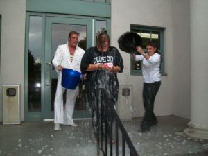 Cal City mayor takes ice bucket challenge