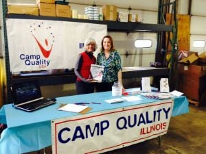Business open house features Camp Quality