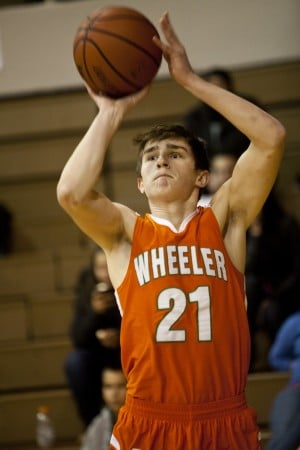 Wheeler's Barnes wins 3-point shootout crown