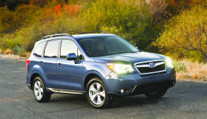 All-new Subaru Forester adds function to award-winning design