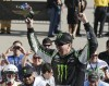 Busch dominates, wins Indiana 250 from pole