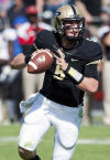 Purdue coach Hazell keeping his next starting QB a secret