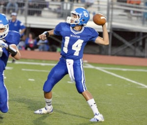Boone Grove QB Eriks has learned on the fly