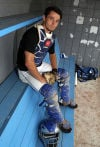 Catcher Alex Mantel controls Lake Central's menagerie of pitchers