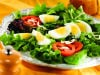 Mixed Green Salad with Eggs