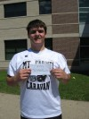 Mount Carmel football player Tom Scanlan