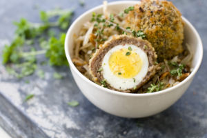 A healthy take on the very not healthy Scotch egg