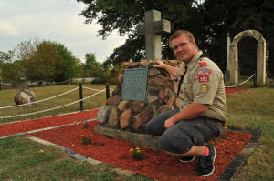 Eagle scout project renovates historic Hack Cemetery