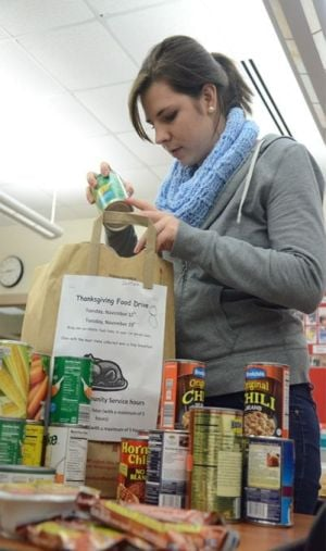 School drives donations to food pantries