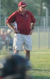 Hanover Central's head coach Larry McMillen