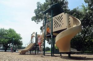 Playgrounds much more than swings, slides today