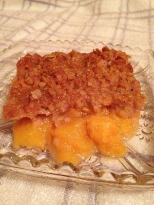 FROM the FARM: Peach crisp a fall favorite