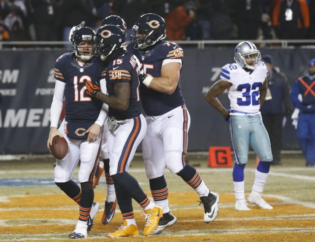 Bears jump on Cowboys early, often