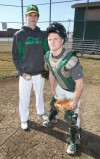 Morgan Township's Joe Dougherty and Adam Rettinger