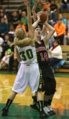 Morgan Twp. meets Washington Twp. in the Girls Porter County Conference Tournament