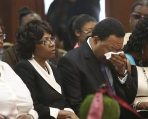 Family, friends, city pay respects to former Gary Mayor Rudy Clay