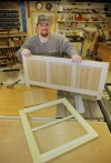 C.J. Compton crafts custom furniture and cabinetry