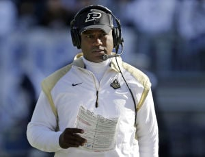 Purdue's Hazell sticking to improvement plan
