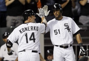 GEORGE CASTLE: Who's No 1? More importantly, who's No. 3 in Sox lineup?
