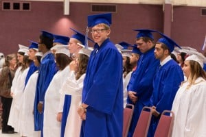 Portage school marks first commencement