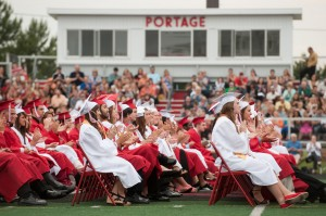 Portage High grads 'go forth with positivity'