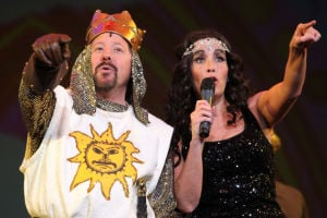 "Schererville principal takes to the stage in ""Spamalot"""