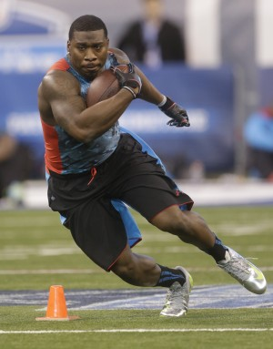 Zac Stacy credits Vandy's success for NFL chance