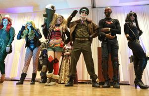 Characters from Negan to Wolverine invade Schererville Saturday