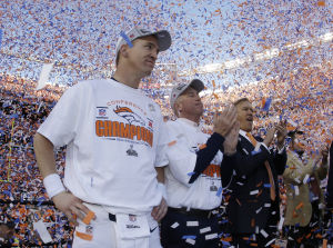Manning to Super Bowl, Broncos beat Pats 26-16