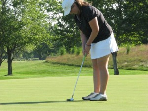 Marian Catholic golfer Sylvie Brick one of the best in the state