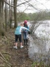 Discovery Middle School students embrace challenge at Howell Nature Center