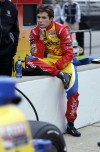 Allmendinger enjoys taking 1st laps at Indy