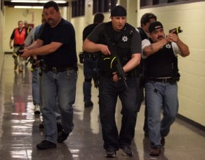 Cal City police train in rapid response