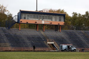 Lights still not working at West Side's football facility