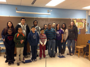 S.T.A.N.D. members mentor elementary students through Pen Pal program