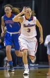 Indiana All-Stars' Ally Lehman