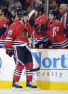 Hawks switch on power play, sweep Predators