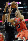 Gibson, Boozer lead Bulls past Nets