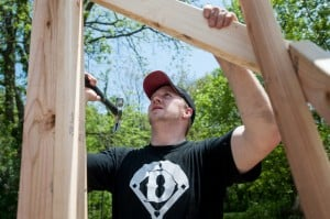 Valparaiso Habitat for Humanity volunteers building new homes