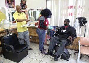 Barbershops help promote health screenings