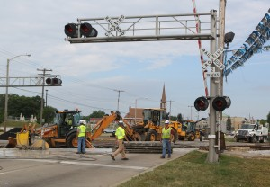 Dyer copes with crossing work