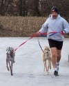 Valpo's Jeff Coggins running Chicago Marathon for American Greyhound charity